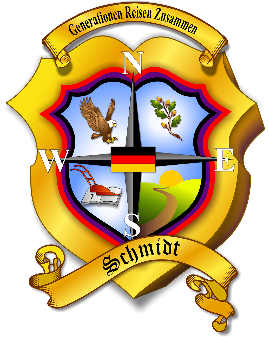 Official-Schmidt-Family-Crest-High-Definition (1300 pixels high)