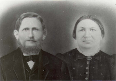 Conrad Jacob Schmidt (1841-1891) and his wife, Martha Elisabeth (Lindemann) Schmidt (1837-1923). Photo courtesy of Linda Swalin.