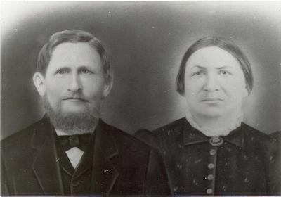 Conrad Jacob Schmidt (1841-1891) and his wife, Martha Elisabeth (Lindemann) Schmidt (1837-1923). Photo courtesy of Linda Swalin.
